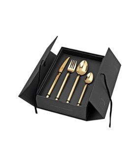 Tvis Gold Cutlery Set